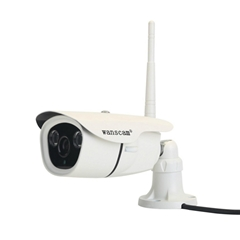 2015 Wanscam New Arrival White Mini 1.3Megapixel Onvif Outdoor P2P IP Camera bui