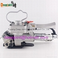 Pneumatic strapping machinery for