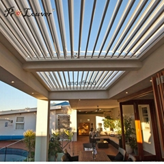 automatic opening roof louver with rain sensor