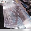 Aluminum perforating panel