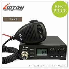 LT-308 luiton new developed LCD display 40 channels am fm 27mhz cb radio