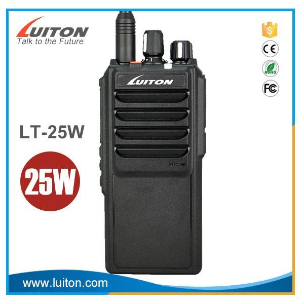 LT-25W super high power 25w long range handheld two way radio 1