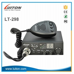 CE approved luiton ASQ function china am fm 27mhz radio cb