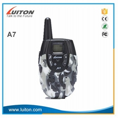 2017 Mini Portable Toy Two Way Radio PMR Walkie Talkie Luiton A7