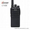 2017 New arrival walkie talkie LT-458 UHF400-470MHz handheld two way radio