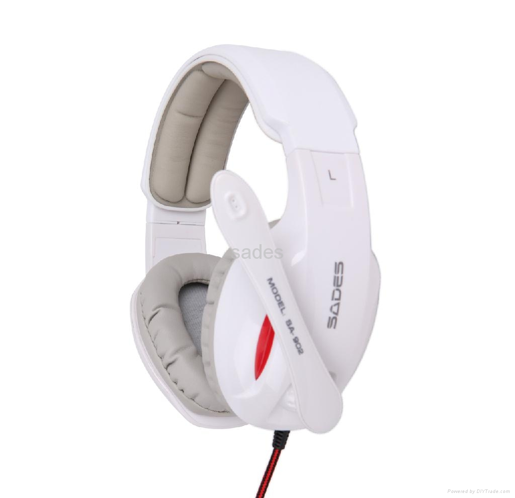 Wired Gaming Headset with Microphone (SA-902) 1