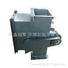 管道式永磁自卸式除鐵器 2
