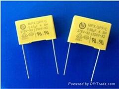 MPX Metallized Polypropylene capacitors