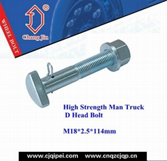 High Strength Man Truck D Head Bolt