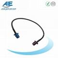 Blue -Blordeaux-violet fakra  cable