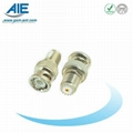 UHF female adapter  BNC male connector