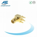 SMA right angle female RF connector  RF adapter