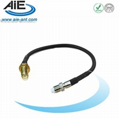RP SMA female -FME female cable assembly