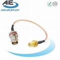 SMA female-BNC female jack   cable assembly