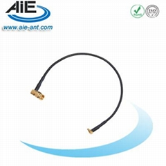 SMA right angle connector -mmcx male cable assembly