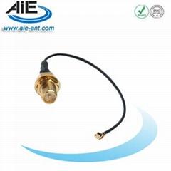 U.FL - RP/SMA female  cable assembly