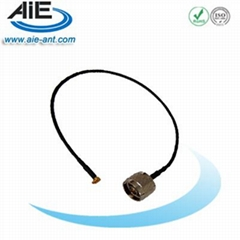 MMCX male-N male  cable assembly