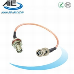 BNC male - BNC B/H female cable assembly