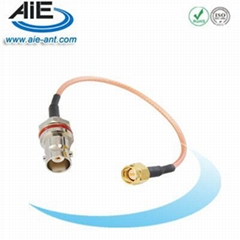 BNC F- SMA male cable assembly