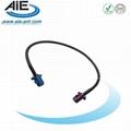 Blue -Blordeaux-violet fakra  cable assembly