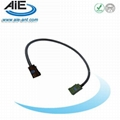 Green -Brown fakra  cable assembly 1