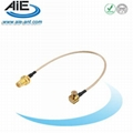 MCX male-RP SMA female cable assembly