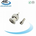 BNC Male Crimp Connector for RG174 Cable 50 Ohm