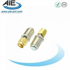 F female - SMA male connector