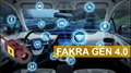 Fakra SMB connector for PCB