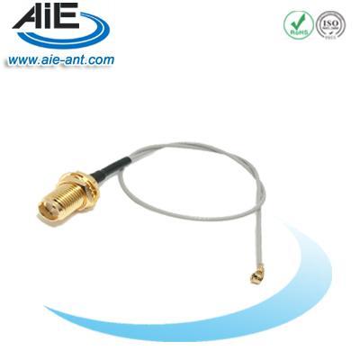 RF SMA Female Straight Bulkhead to u.fl/ipex  1.13/1.37/0.81 Jumper  Cable