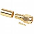 RP SMA Plug crimp Connector for LMR240