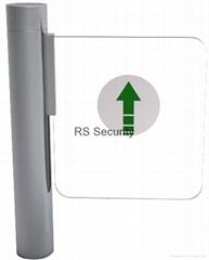 Pedestrian Security Swing Gate Barrier for Entrance Eixt