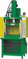 Fast hydraulic press