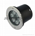 6W AC85-265V LED underground light 6000k