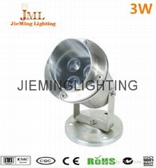 304 Stainless Steel 12V 24V IP68 LED Underwater Light Mini Swimming Pool Lamp 1W