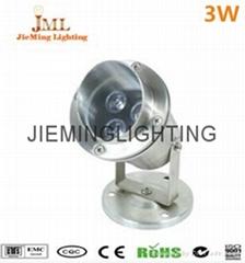 304 Stainless Steel 12V 24V IP68 LED Underwater Light Mini Swimming Pool Lamp 1W