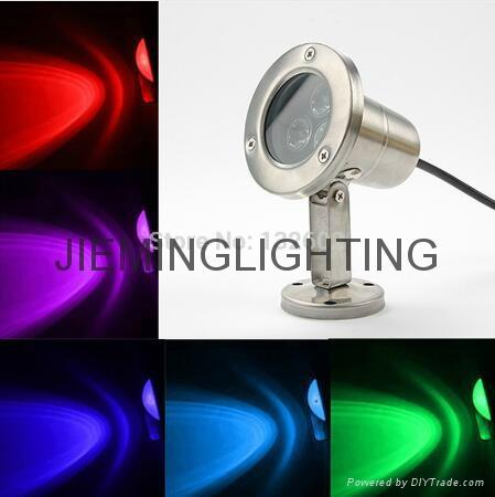 LED 水底燈 1W 3W 5W 3