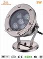 LED 水底燈 1W 3W 5W 4