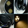LED 圓形地埋燈 3W  85-265VAC DC12V 24V 紅光 藍光 綠光 RGB七彩 全彩  白光  5