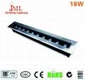LED outdoor floodlight garden long strip buried lamps 3w 5W 12W 18W