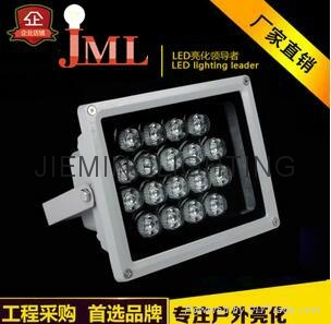 LED floodlight project light 6w 12w 18w 36w rgb green red blue white 2