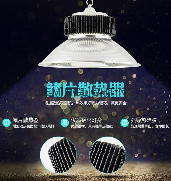 led100W150W工礦燈廠房燈led鰭片式工礦燈倉庫燈天棚球場燈新款 1