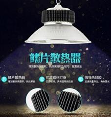 led100W150W工礦燈廠房燈led鰭片式工礦燈倉庫燈天