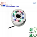 304 Stainless steel  3w 6w 9w 12w 15w 18w 24w 36w  led underwater fountain light
