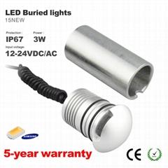 DC12V 24V 3W LED  櫥櫃燈 展櫃燈