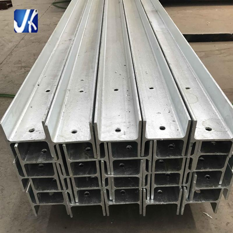Custom perforated galvanized H beams for construction 3
