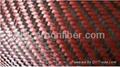 hybrid fabric of kevlar aramid and