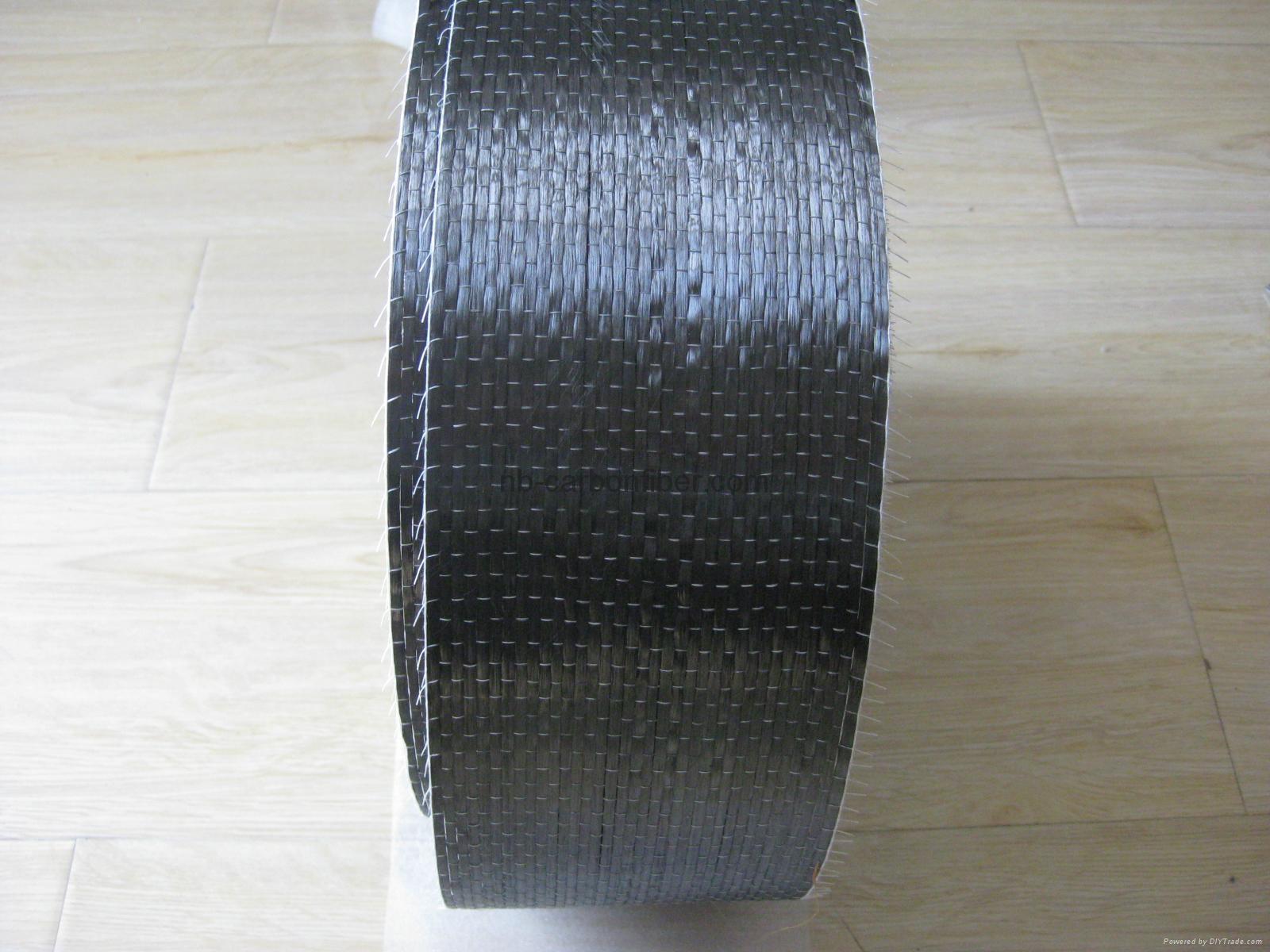 12K UD carbon fiber cloth uni direction for building bridge reinforcement  1