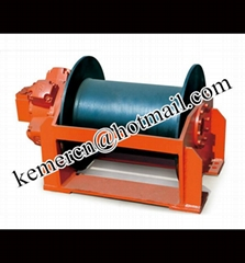 dredger hydraulic winch 1-60 ton