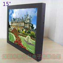 15寸工業顯示器